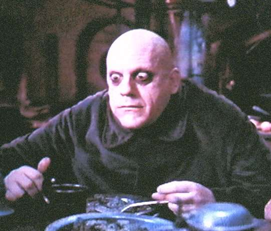 Uncle Fester presents this
